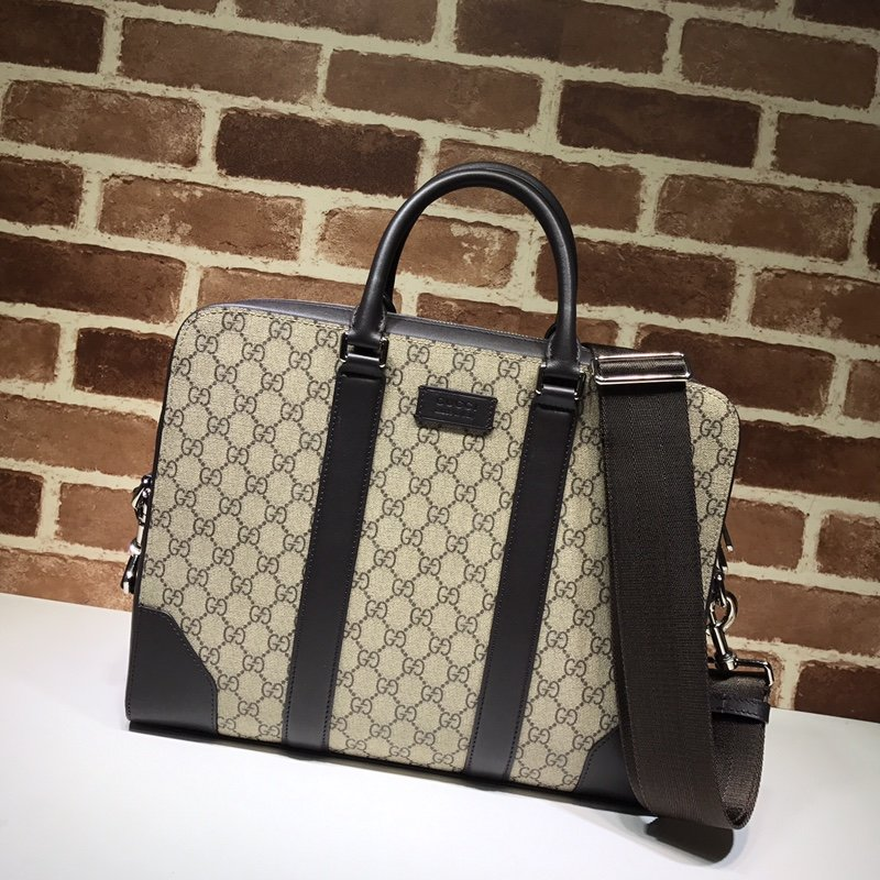 AAA Gucci 474135 Men GG Briefcase