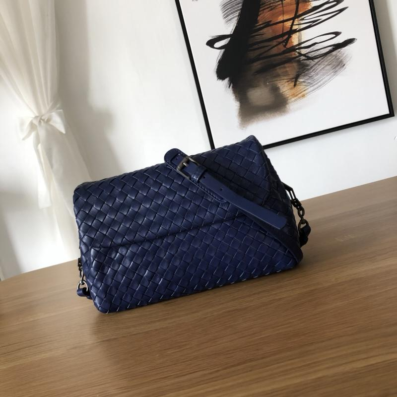 Bottega Veneta Women Small Messenger Bag Blue