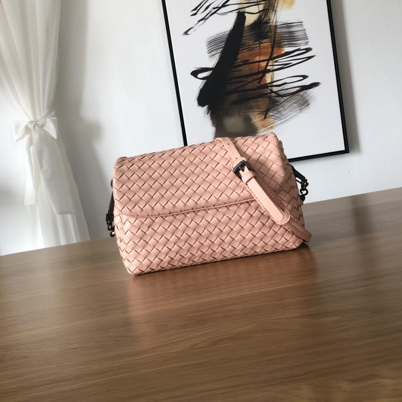 Bottega Veneta Women Small Messenger Bag Pink
