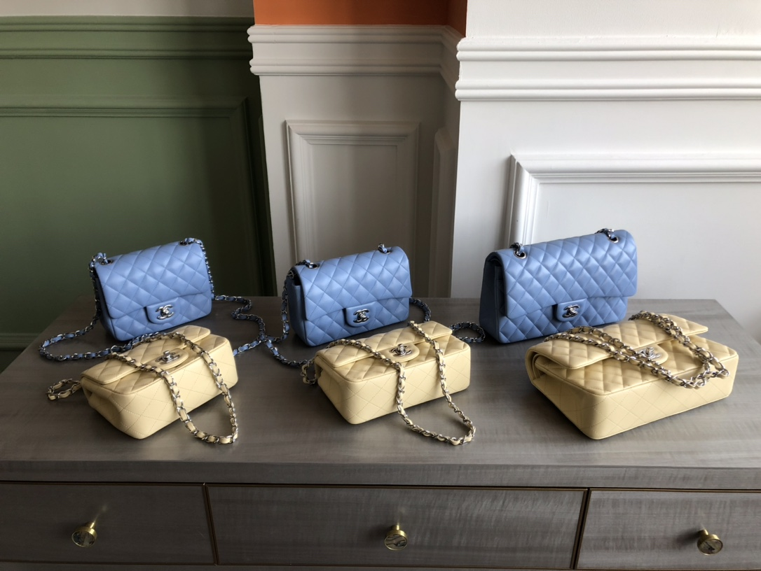 Chanel Classic Flap Bags New Color