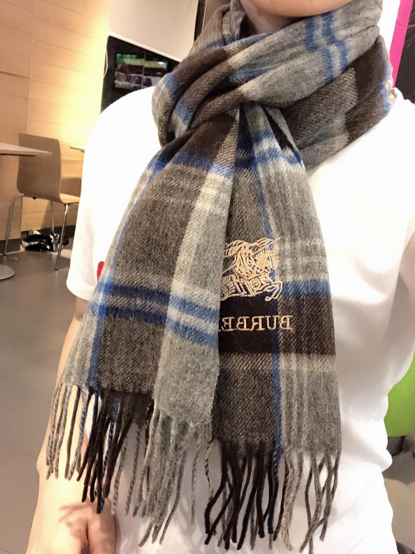 Cheap Replica Burberry Scarf 0024
