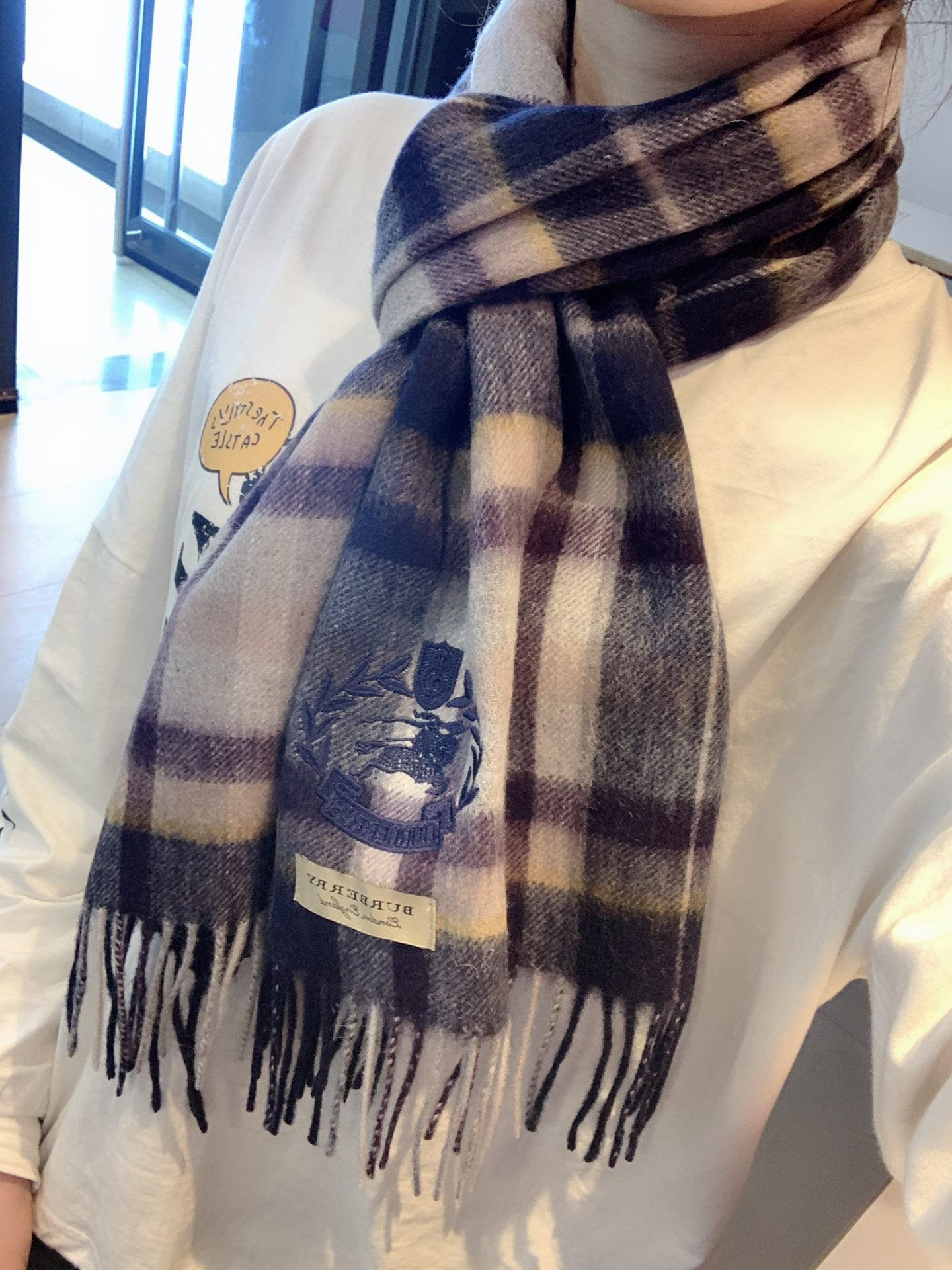 Cheap Replica Burberry Scarf 0025