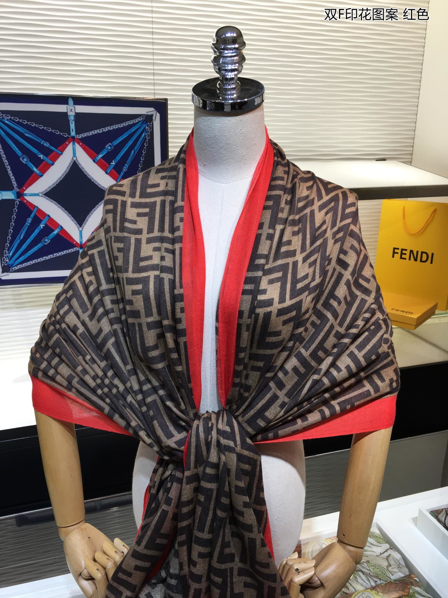 Cheap Replica Fendi Women Scarf 0002