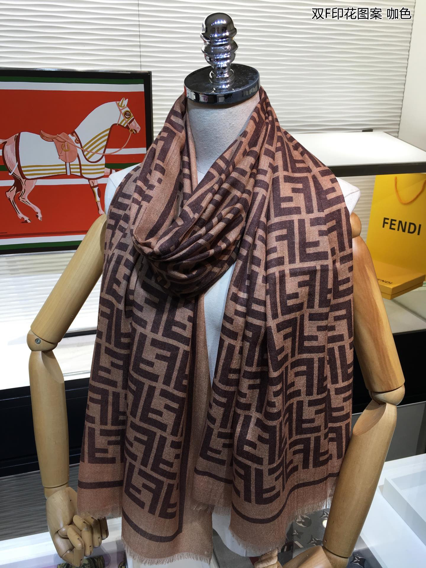 Cheap Replica Fendi Women Scarf 0003