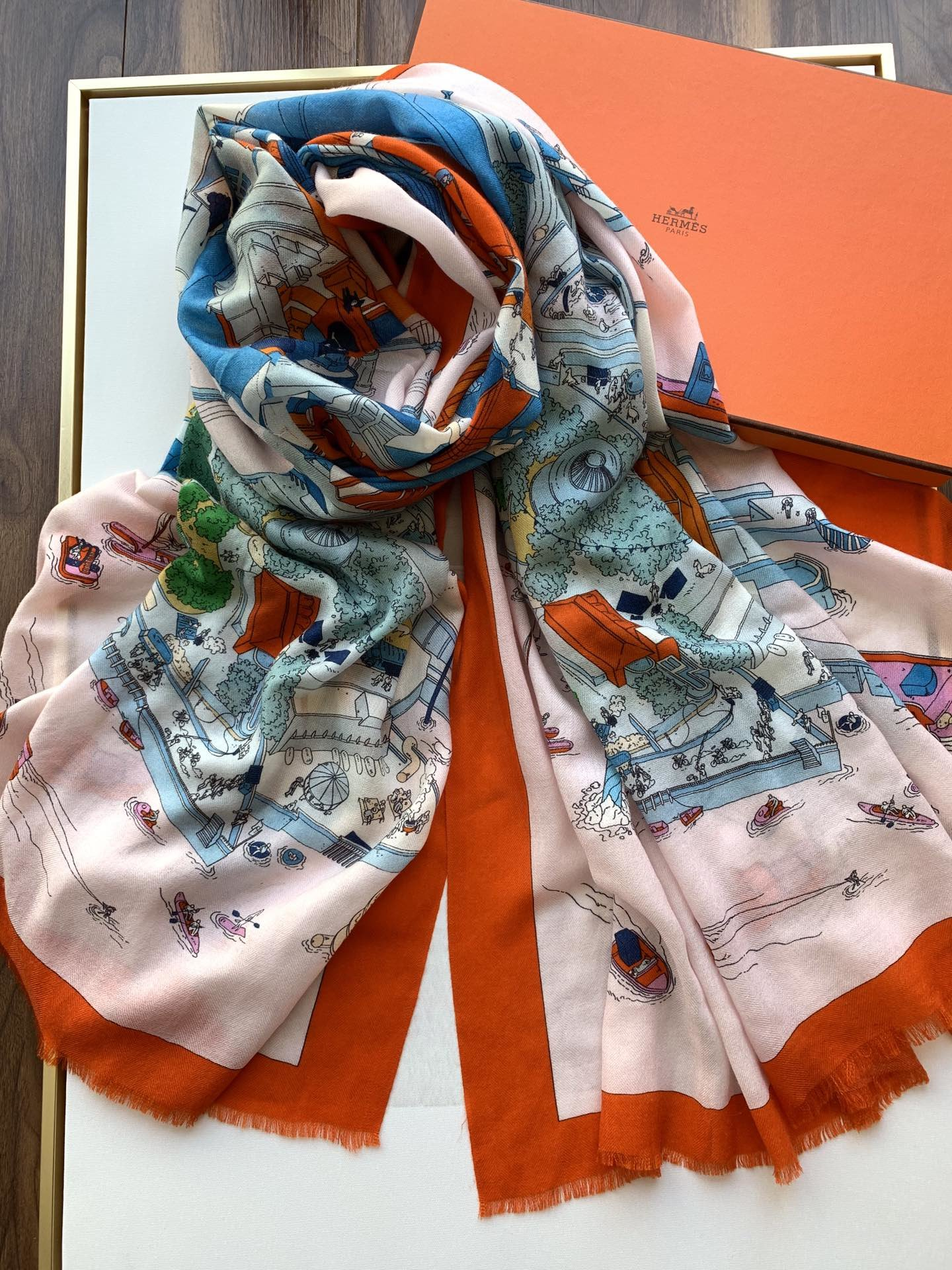 Cheap Replica Hermes Women Scarves 0023