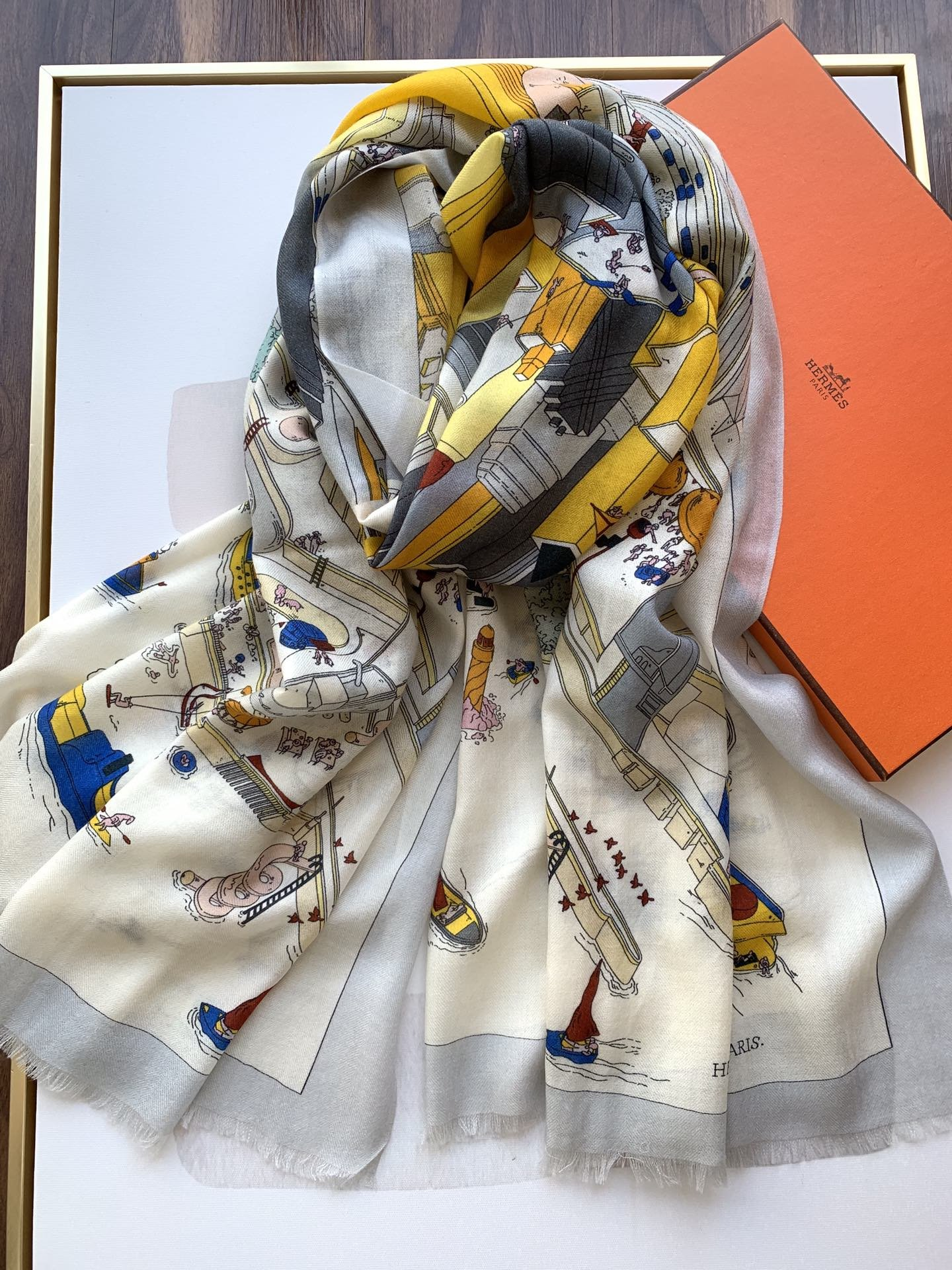 Cheap Replica Hermes Women Scarves 0024