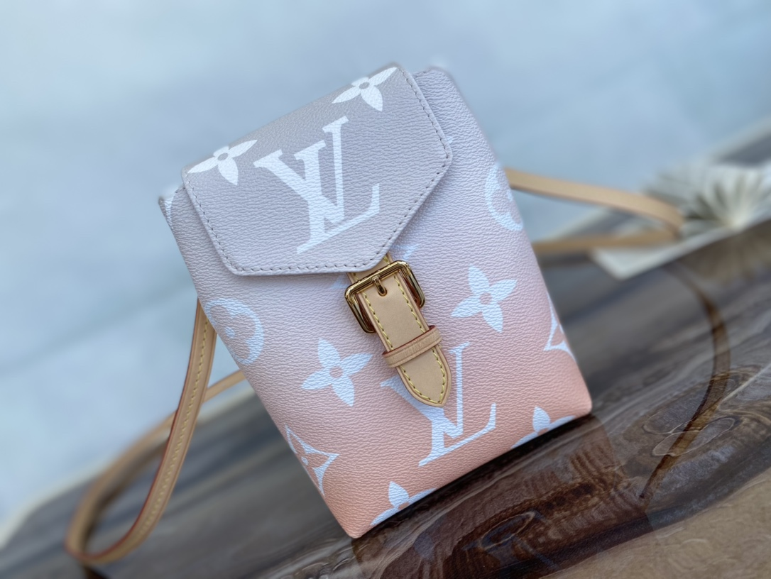 Copy Louis Vuitton M45764 Tiny Backpack in Monogram Canvas