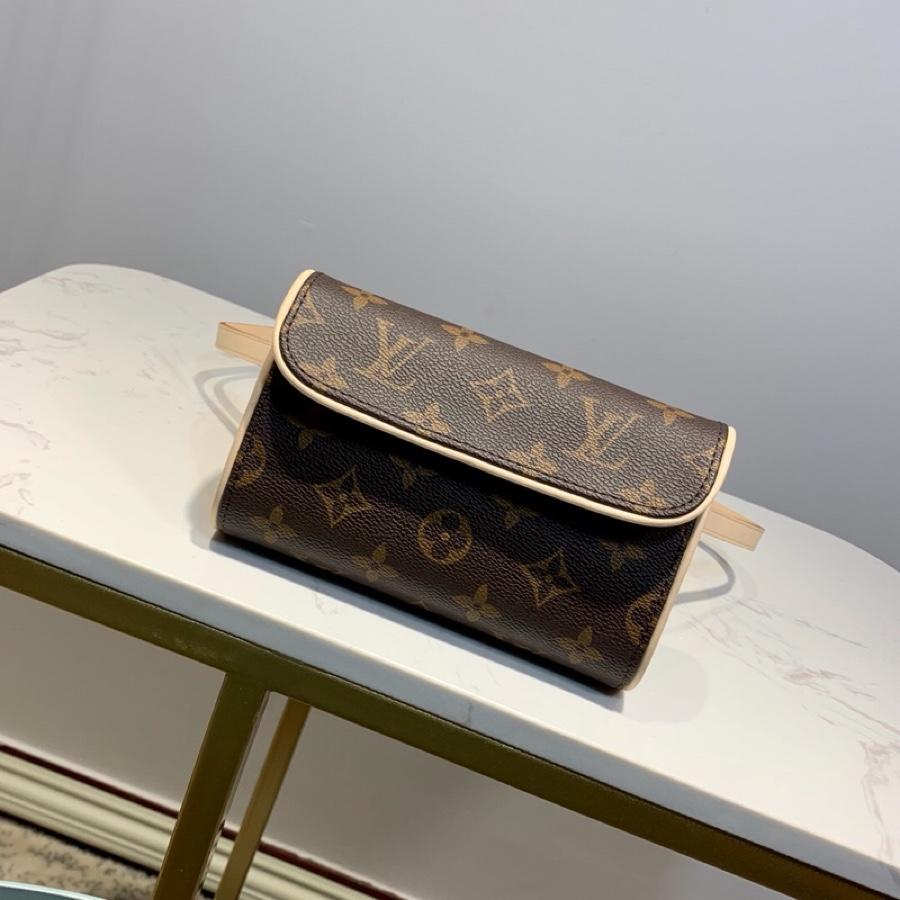 Copy Louis Vuitton Women Belt Pouch PM Monogram Canvas