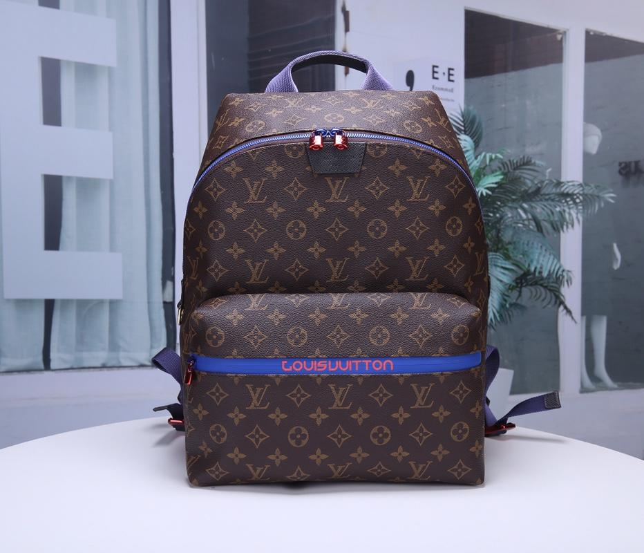 Louis Vuitton M43849 Apollo Men Backpack Monogram Coated Canvas