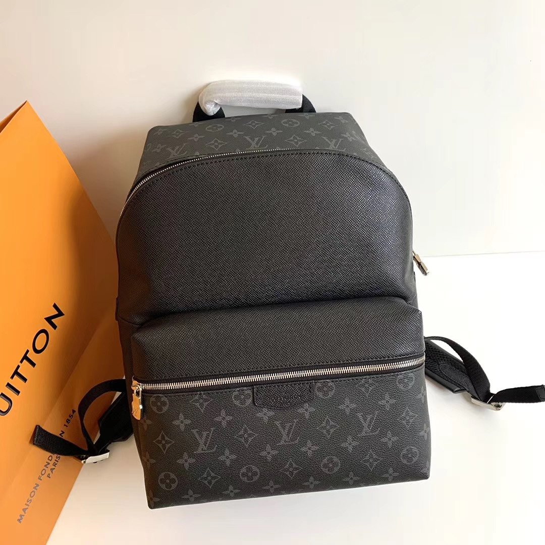 New Replica Louis Vuitton M33450 Discovery Backpack PM Taiga Cowhide Leather