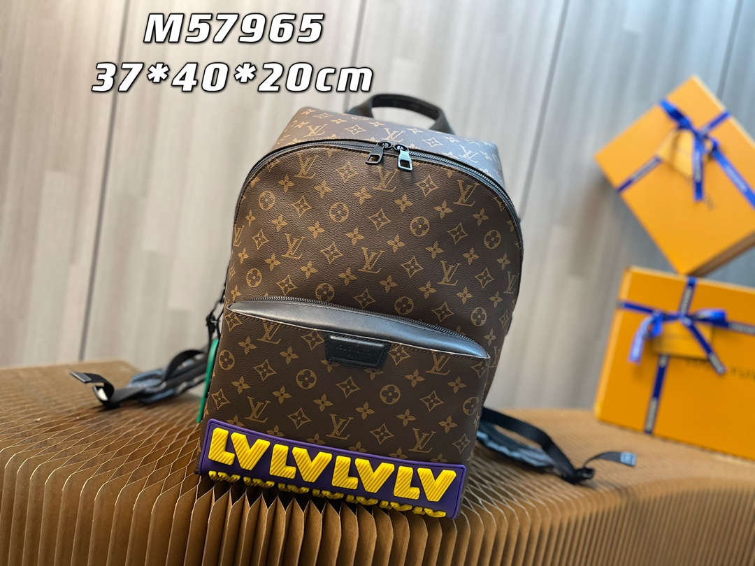 New Replica Louis Vuitton M57965 Mens Discovery Backpack Monogram Coated Canvas
