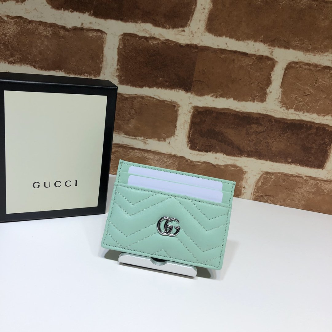 Origianl Copy Gucci 443127 GG Marmont Women Card Case