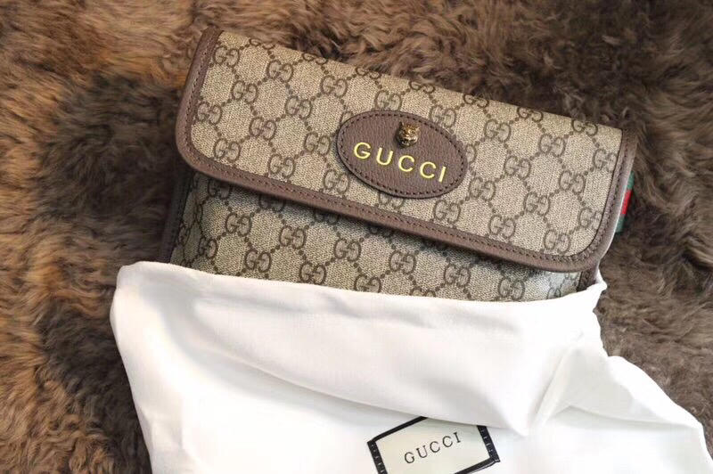 Replica 493930 Gucci Men Women GG Supreme Belt Bag