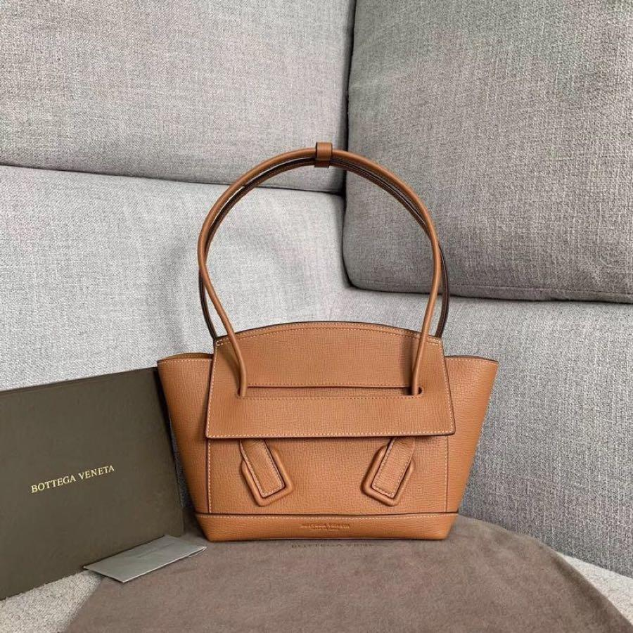 Replica Bottega Veneta Arco 33 Bag In Palmellato Calf Wood