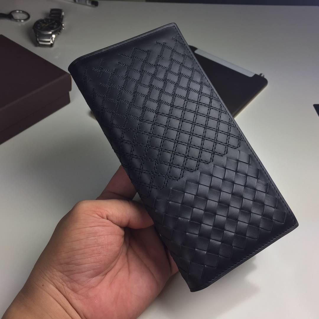 Replica Bottega Veneta Men Leather Wallet