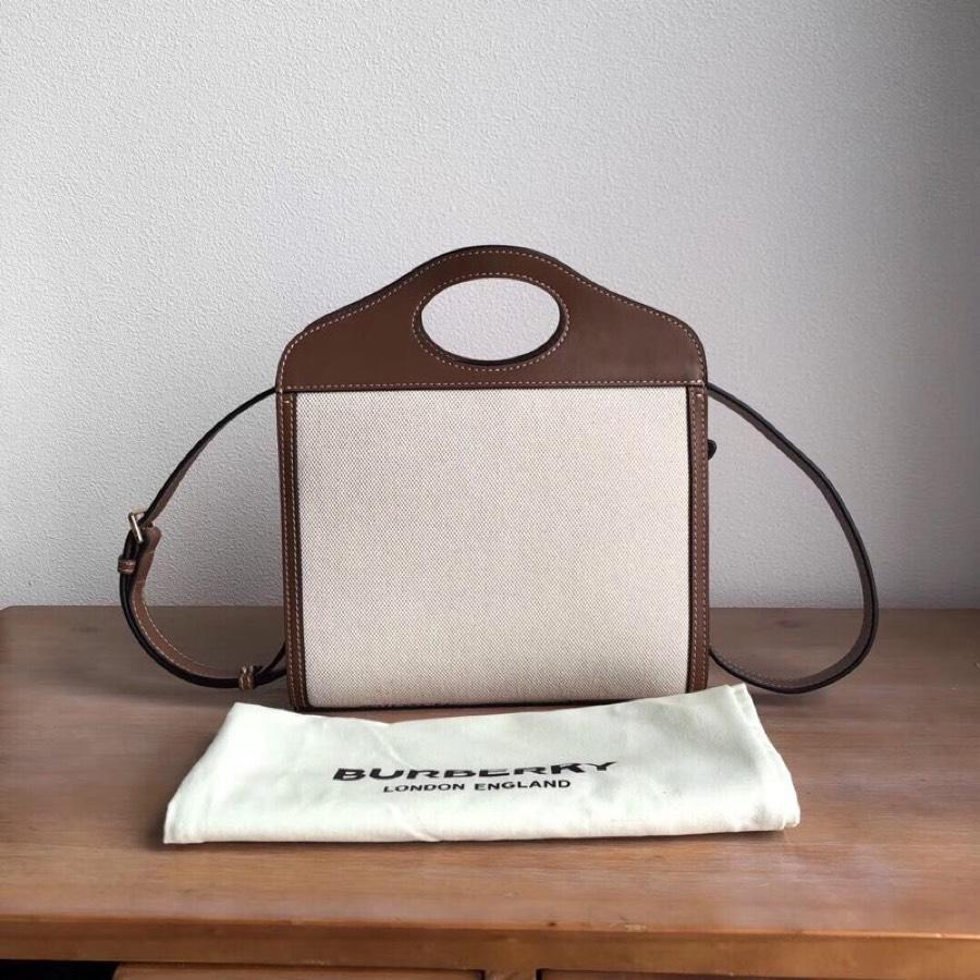 Replica Burberry Horseferry Print Title Bag with Pocket Detail