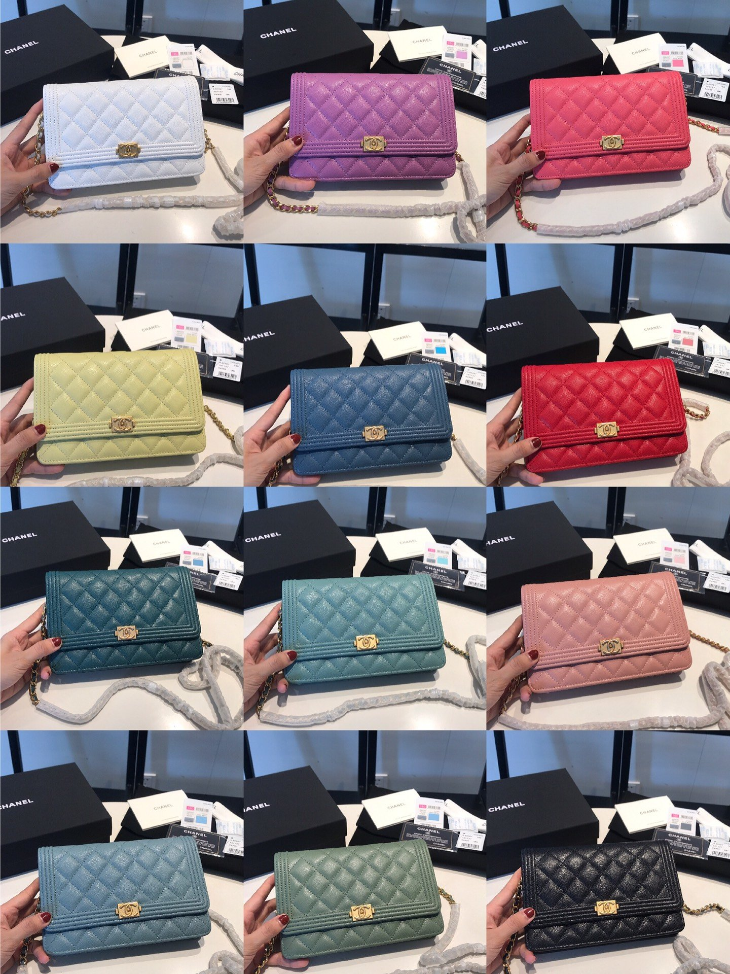 Replica Chanel Women Wallet on Chain Series