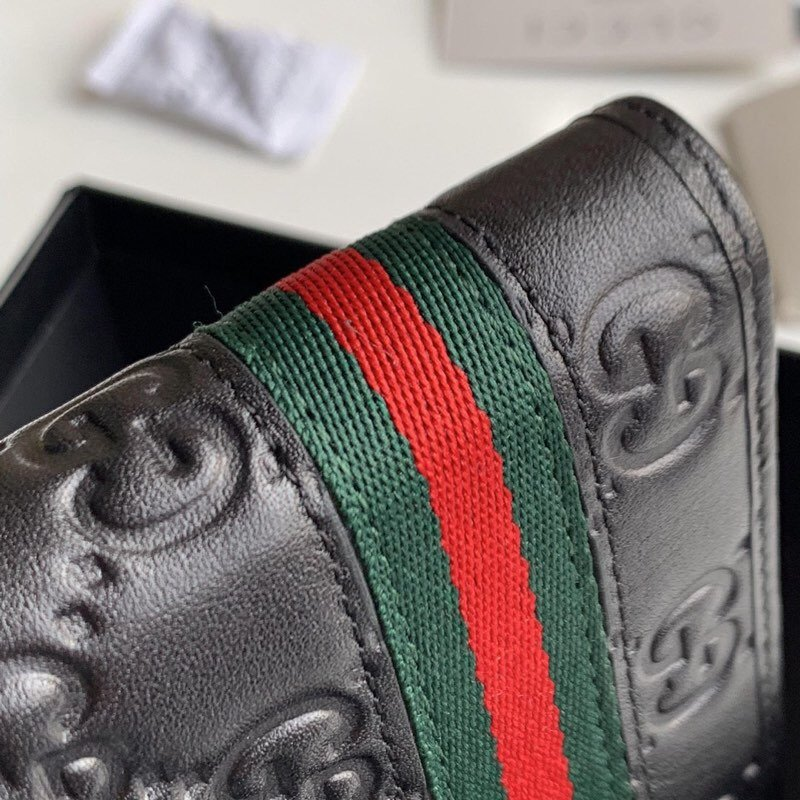 Replica Gucci 138042 Men Signature Web Wallet