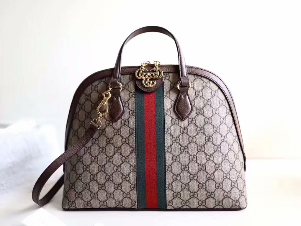 Replica Gucci 524533 Ophidia GG Medium Women Top Handle Bag