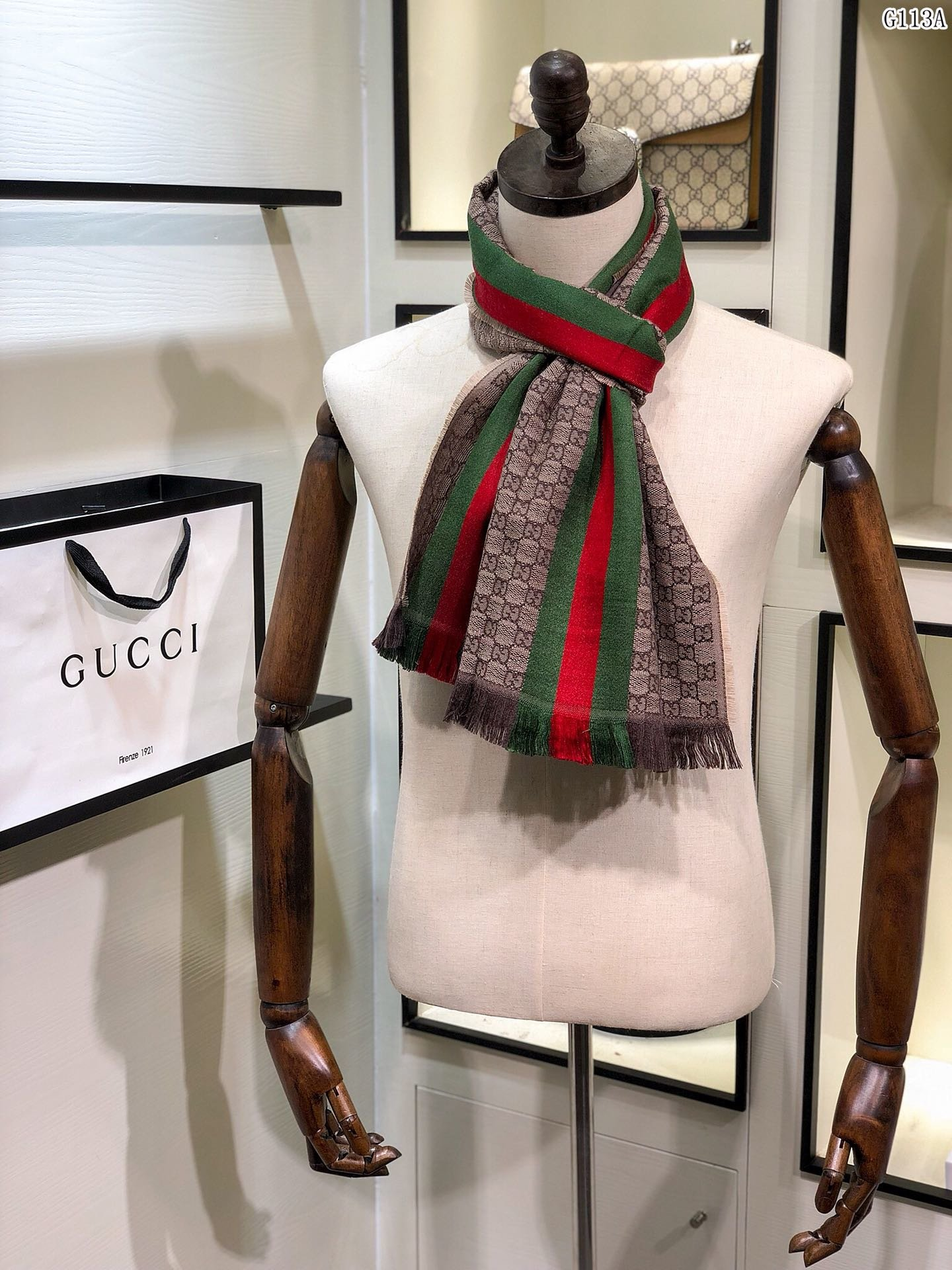 Replica Gucci Men Scarf 0018