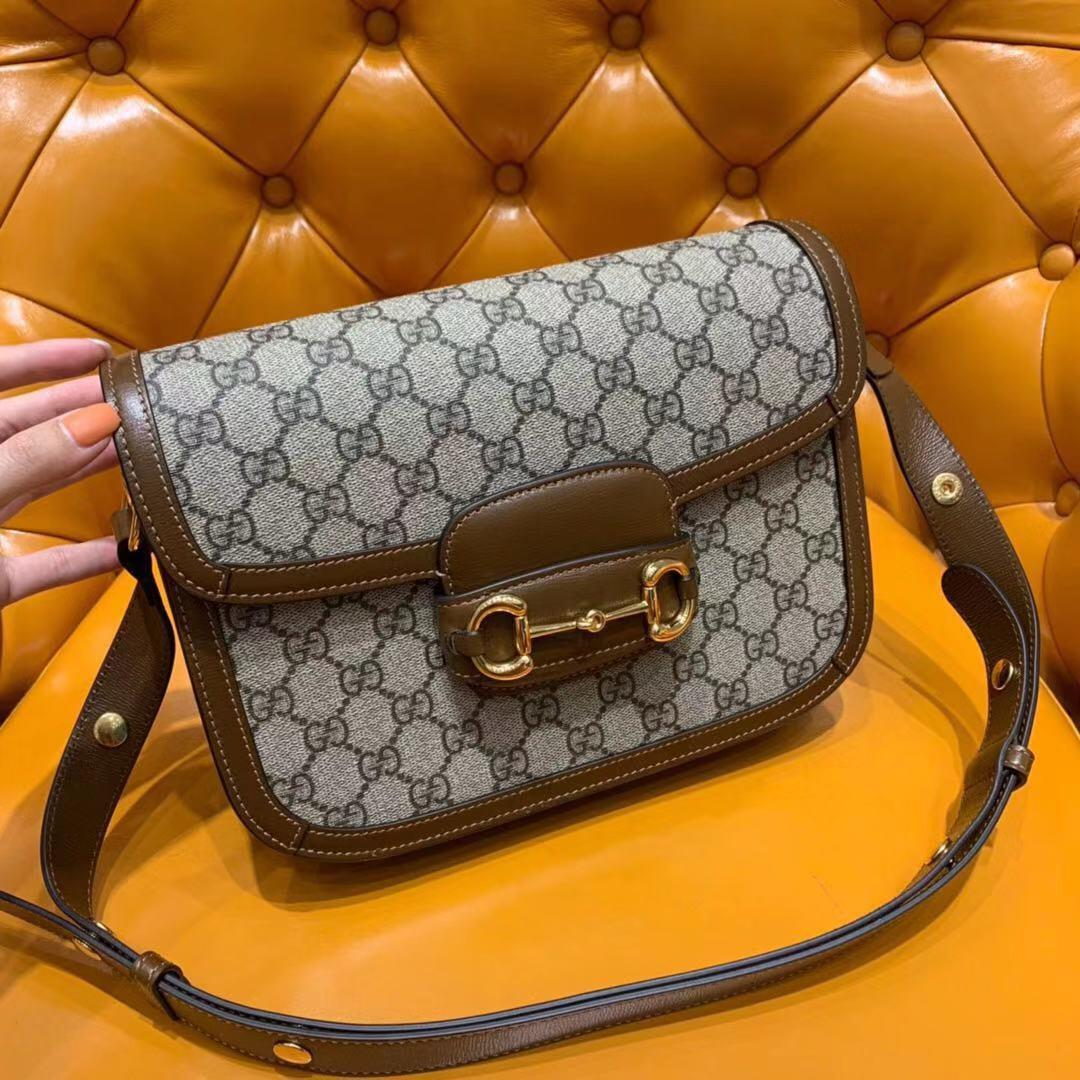 Replica Gucci Women Online Exclusive Preview Gucci 1955 Horsebit Bag 602204
