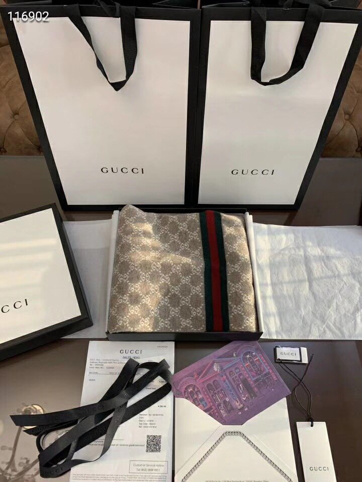 Replica Gucci Women and Men Scarf 0015