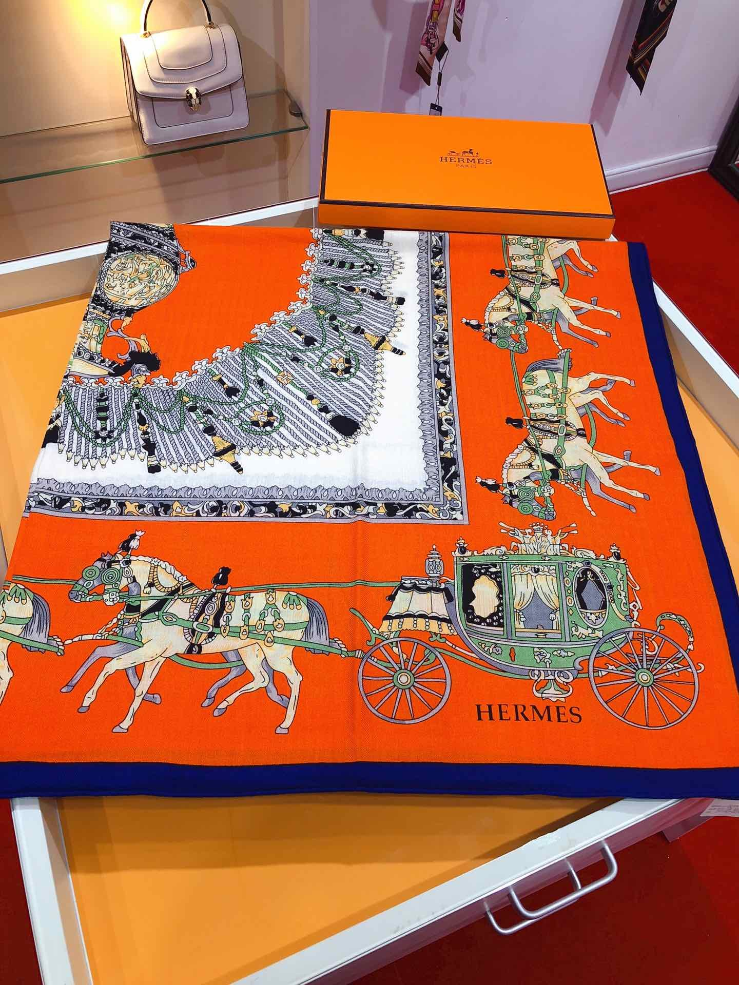 Replica Hermes Women Scarf 0012