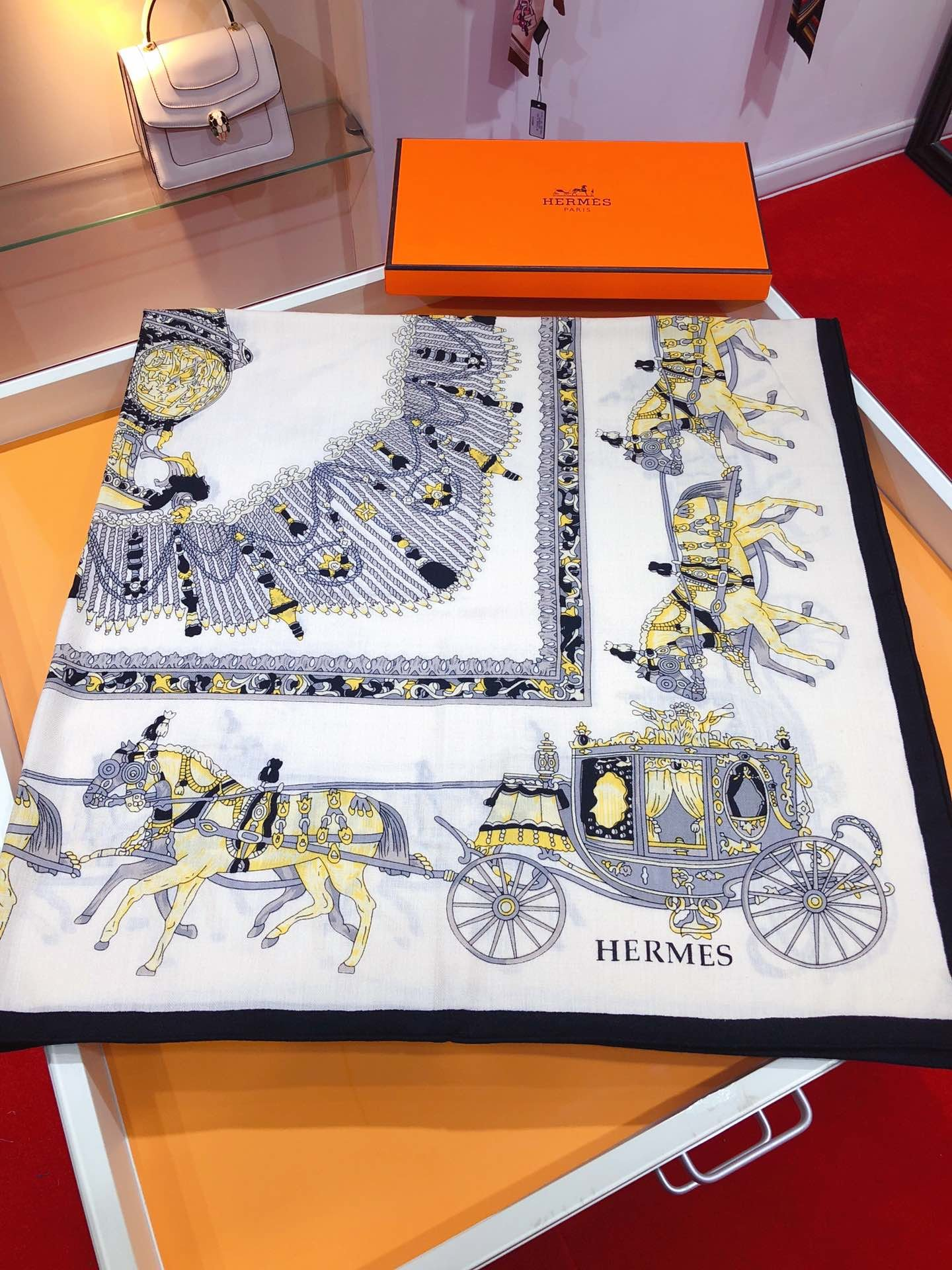 Replica Hermes Women Scarf 0013