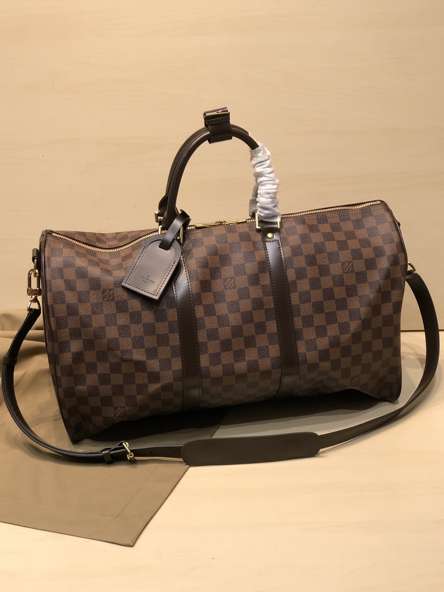 Replica Louis Vuitton Keepall Bandouliere-1 45 50 55
