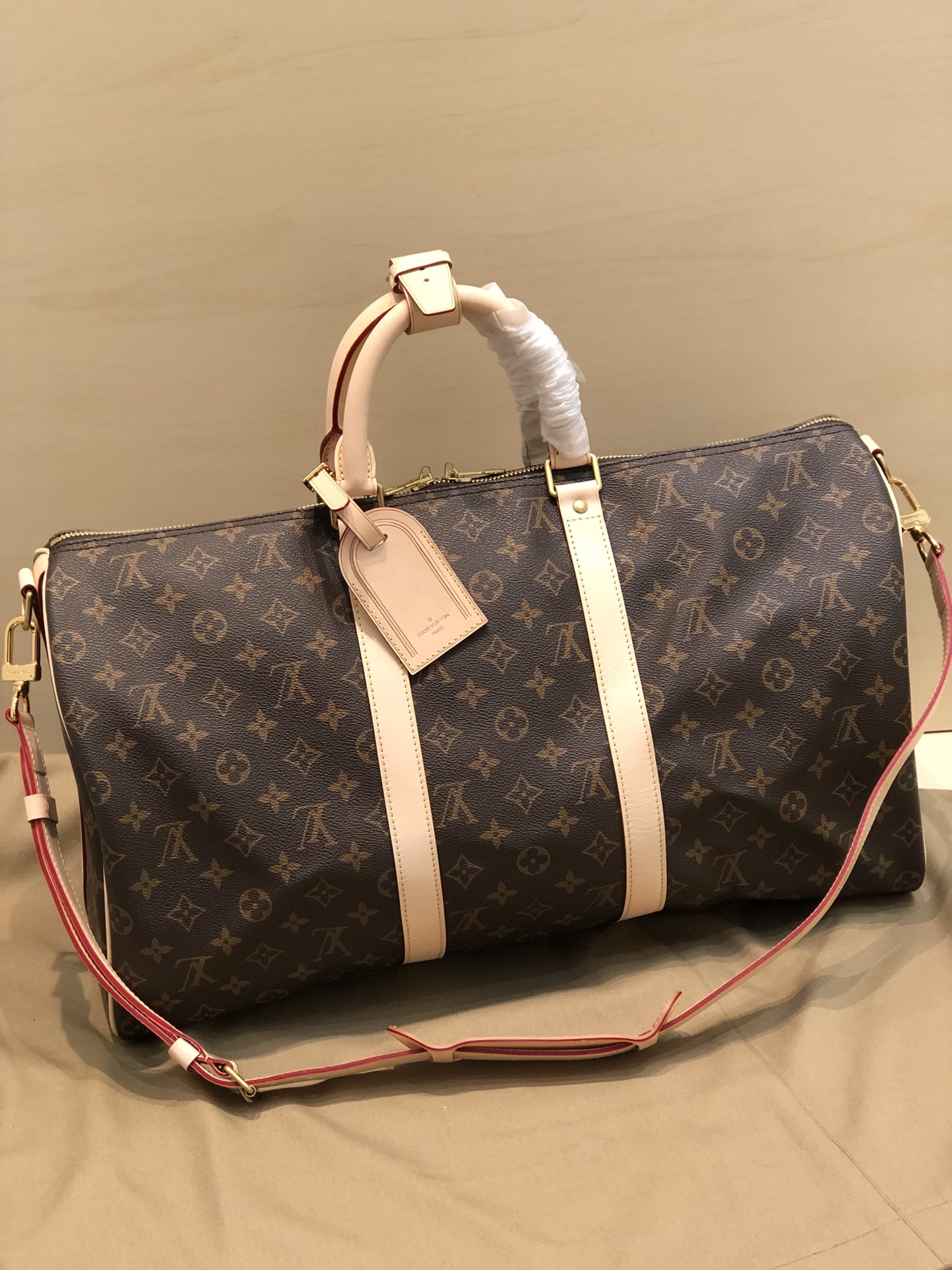 Replica Louis Vuitton Keepall Bandouliere-3 45 50 55