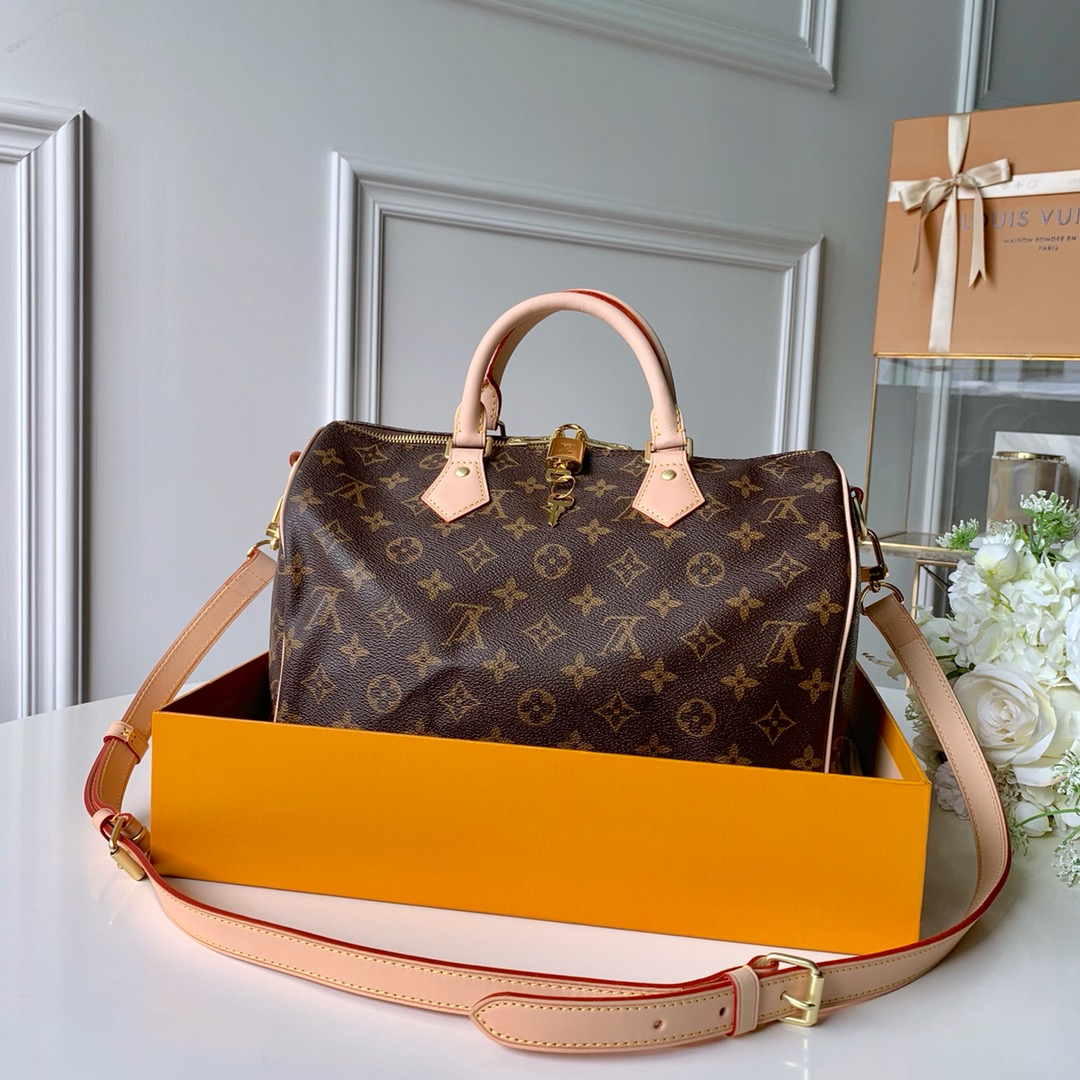 Replica Louis Vuitton M41108 Speedy 30 Monogram Coated Canvas