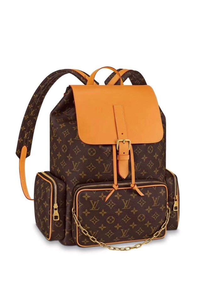 Replica Louis Vuitton M44658 Men Backpack Trio