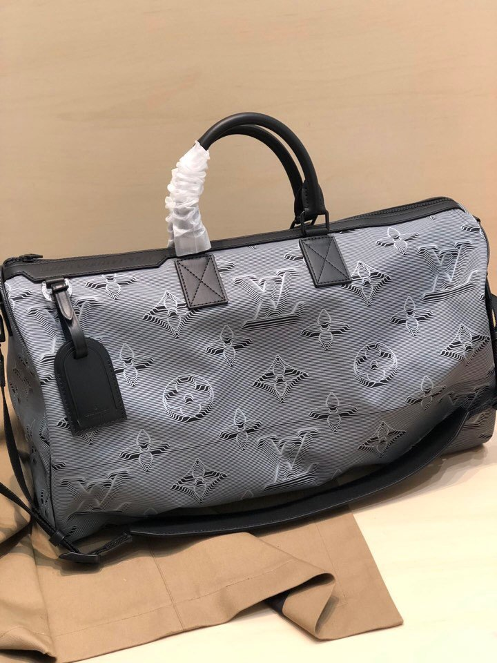 Replica Louis Vuitton M44939 Reversible Keepall Bandouliere 50