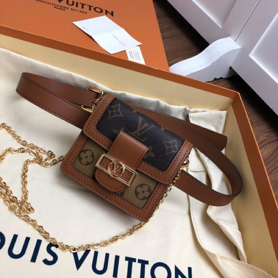 Replica Louis Vuitton M68621 Women Bumbag Dauphine BB Monogram