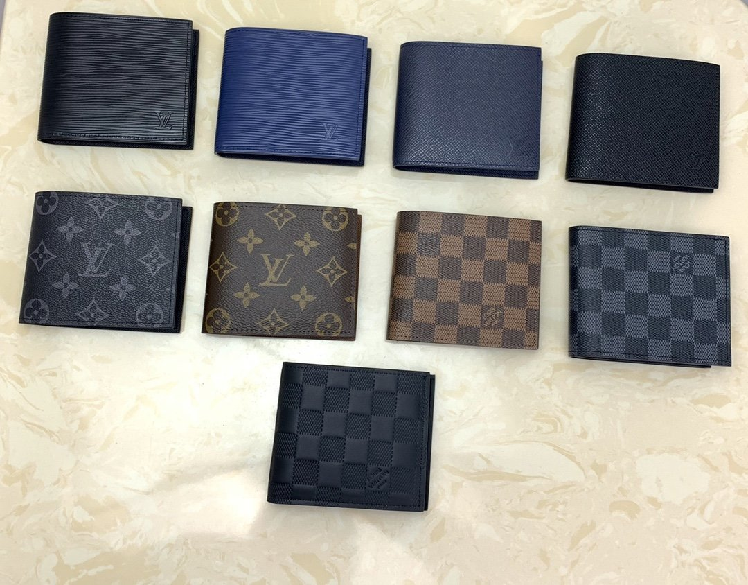 Replica Louis Vuitton Men Marco Wallets