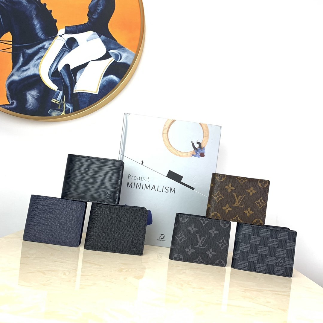 Replica Louis Vuitton Men SLENDER ID Wallets
