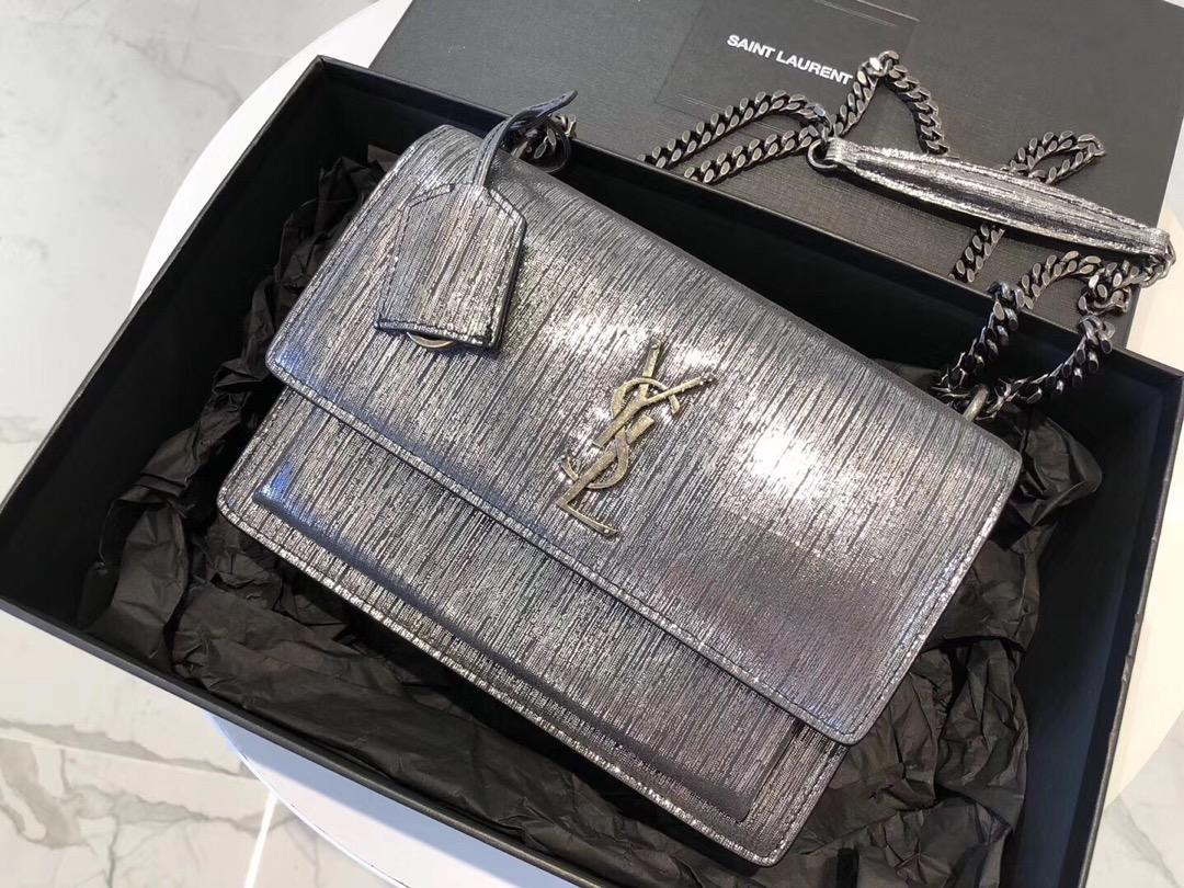 Replica Saint Laurent Snake New Styler Leather With Gold Hardware 20cm