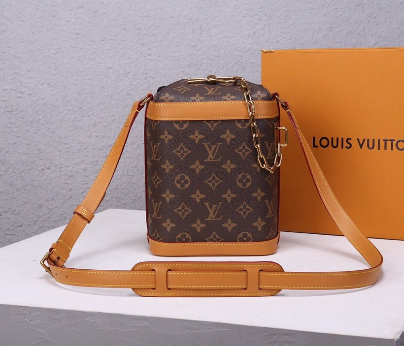 Top Replica Louis Vuitton M44877 Milk Box Monogram Coated Canvas
