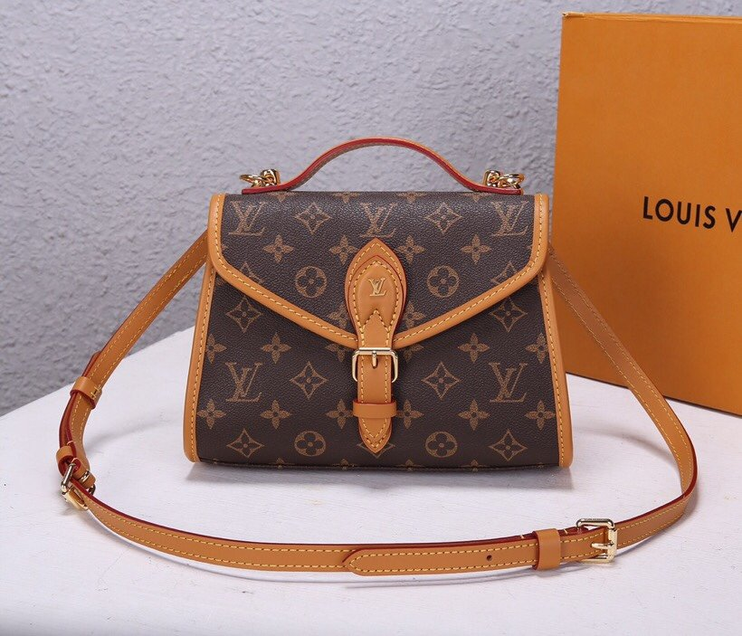 Top Replica Louis Vuitton M44919 LV Ivy Monogram Coated Canvas